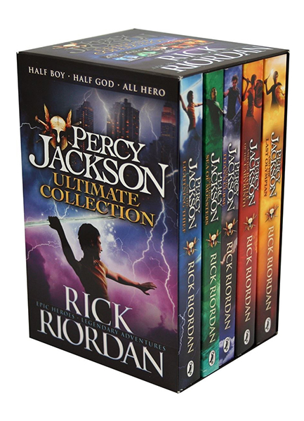 Percy Jackson and the Olympians: 5 Books Set