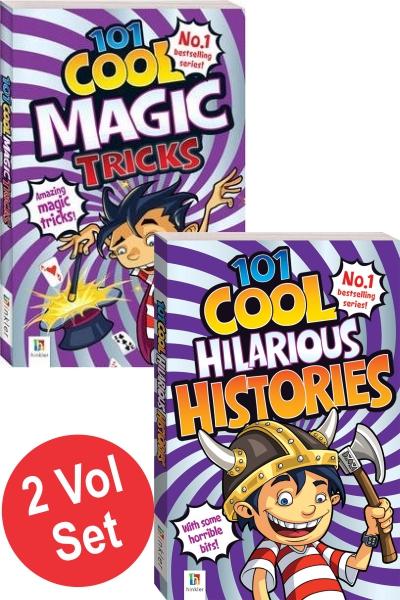 101 Cool Jokes Series (2 Vol set)