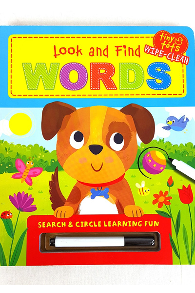 Look and Find: Words - Board Book