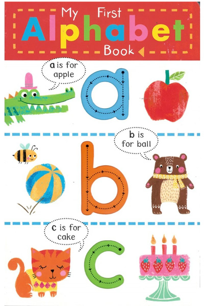 Finger Trace - My First Alphabet Book