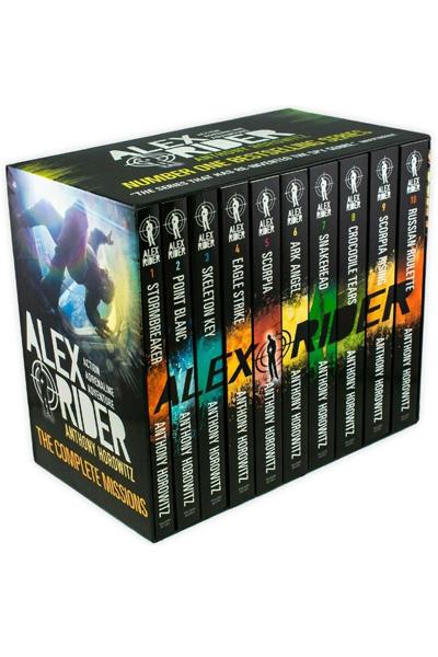 Alex Rider Complete Missions (10 Vol.set)