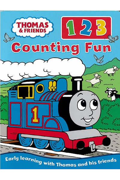 Thomas And Friends: 123 Counting Fun - Board Book