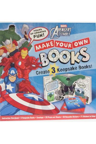 Marvel Avengers : Make Your Own Books