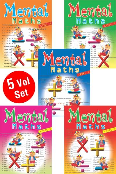 Mental Maths Series (5 Vol.set)