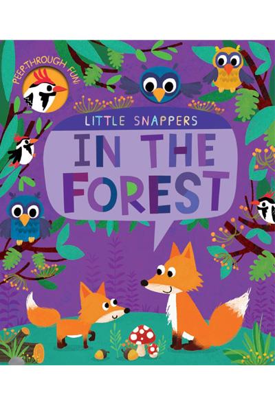 Peek-through Forest (Little Snappers) Board Book