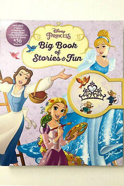 Disney Princess: Big Book of Stories & Fun