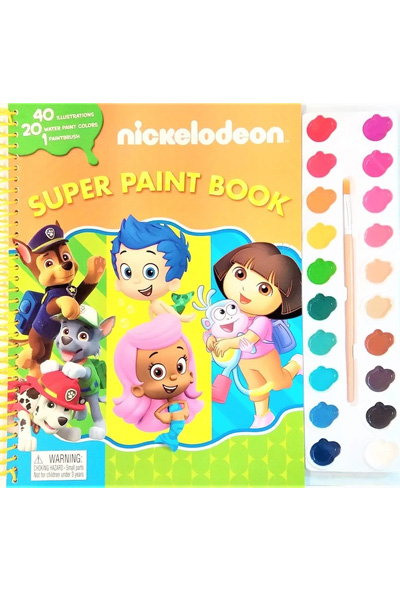 Nickelodeon: Super Paint Book