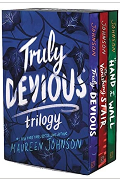 Truly Devious 3-Book Box Set: Truly Devious... Vanishing Stair ... and Hand on the Wall