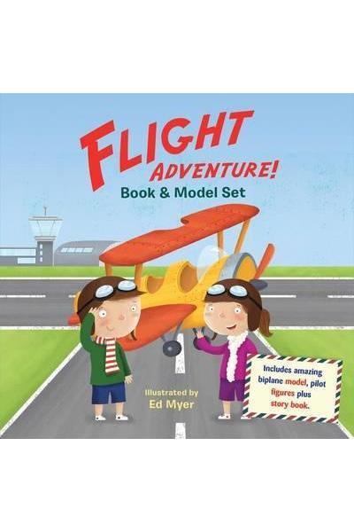 Flight Adventure Book & Model Set