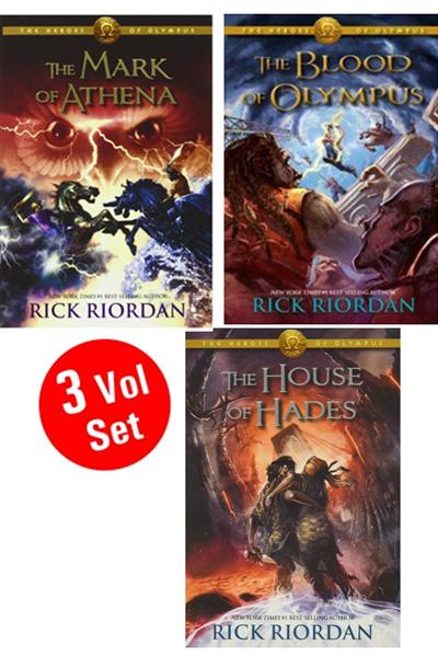 Rick Riordan Series 1 (3 Vol.set)