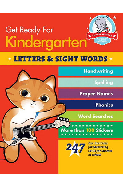 Get Ready for Kindergarten: Letters & Sight Words