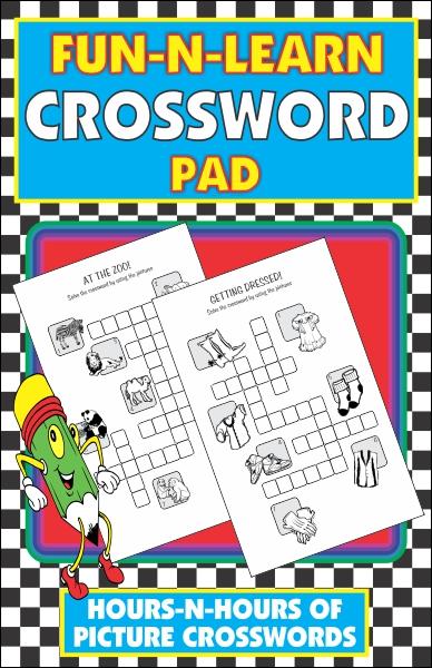 Fun-N-Learn Crossword Pad