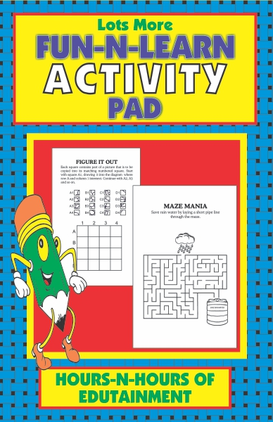 Fun-N-Learn Lots More Activity Pad