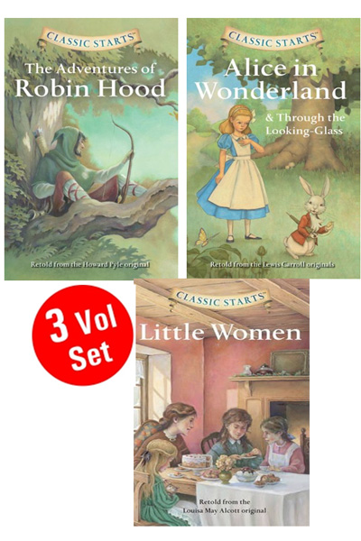 Classic Starts Series (3 Vol set)