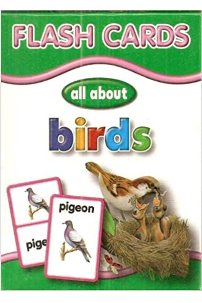 Flash Cards: Birds