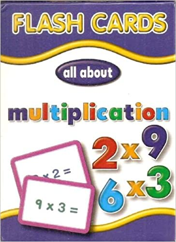 Flash Cards: Multiplication