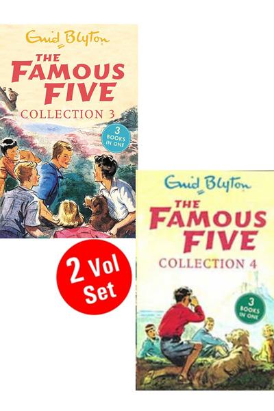 Enid Blyton: Famous Five Collection Series 2 (2 Vol set)