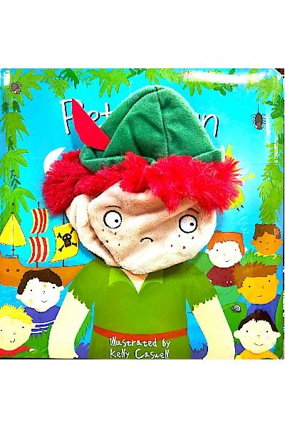 Large Hand Puppet Book: Peter Pan: Hand Puppet Book