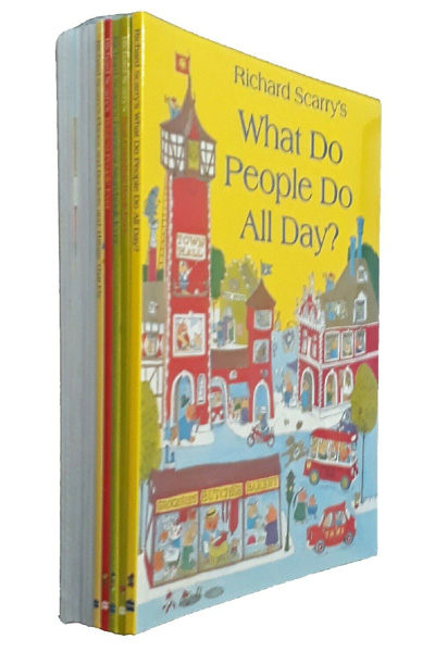 Richard Scarrys Best Collection Ever! 10 Books Collection