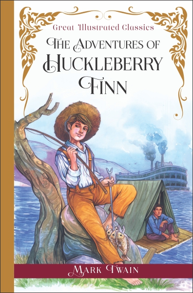 Great Illustrated Classics: The Adventures Of Huckleberry Finn