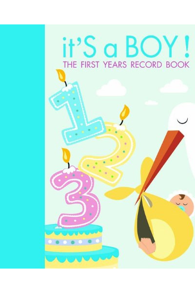 It's A Boy! The First Years Record Book
