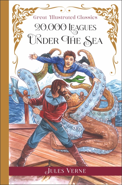 Great Illustrated Classics: 20,000 Leagues Under the Sea