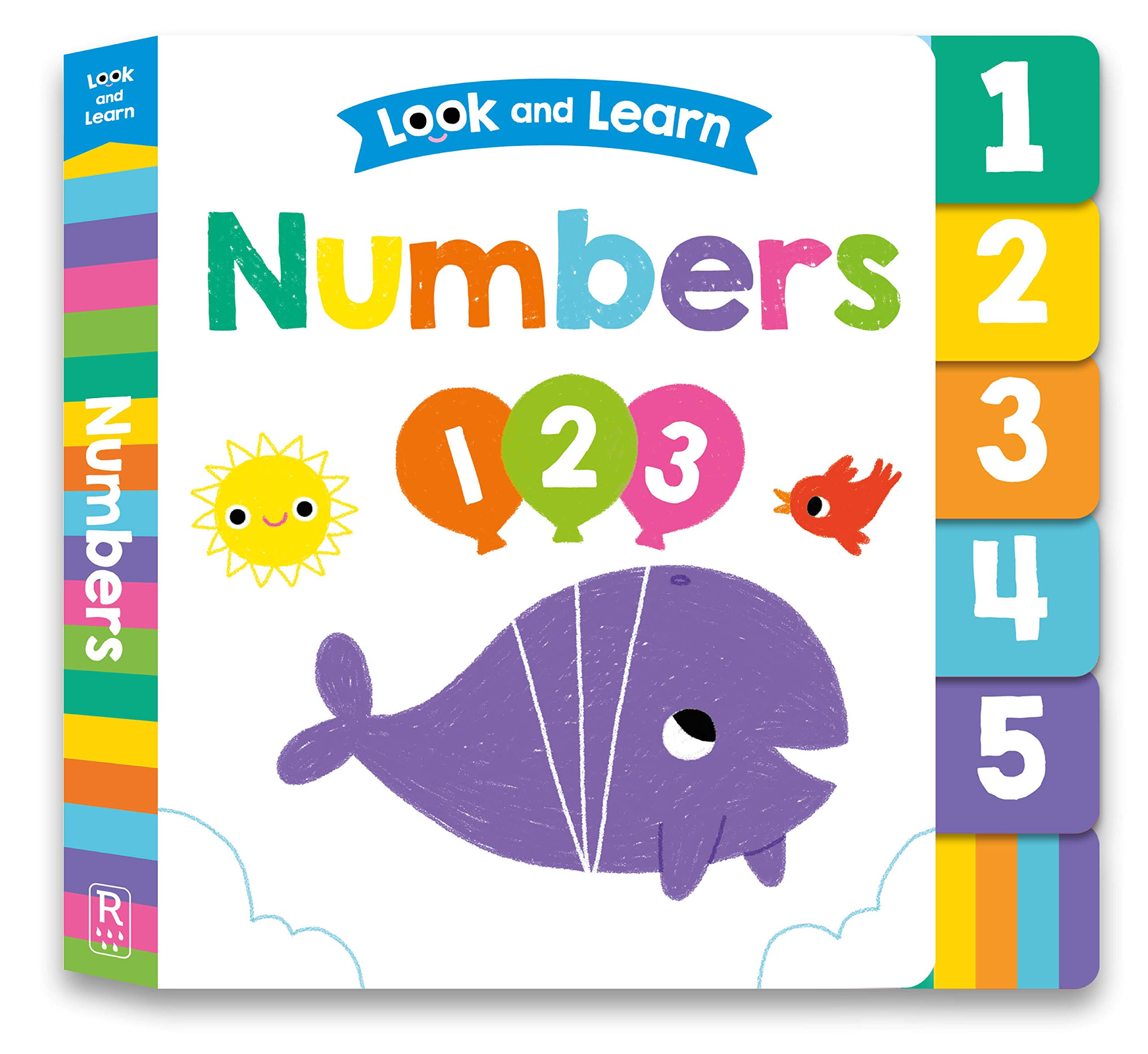 Look and Learn: Numbers: My First Seek-and-Find - Board Book
