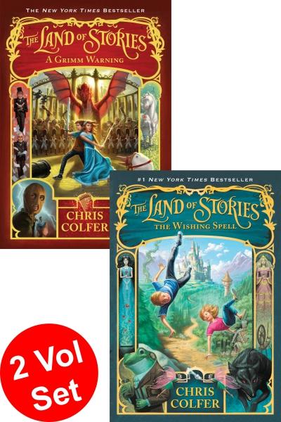 Land Of Stories Series 1 (2 Vol. set)