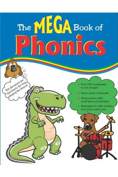 Mega Book of Phonics