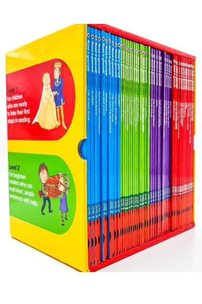 Read it Yourself with Ladybird Collection (50 Vol.Set)