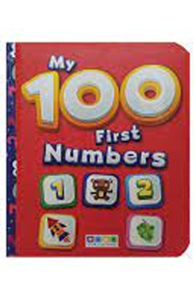 My 100 First Numbers - Board Book