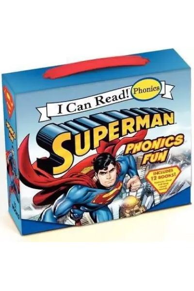 I Can Read! Phonics:Superman Phonics Fun