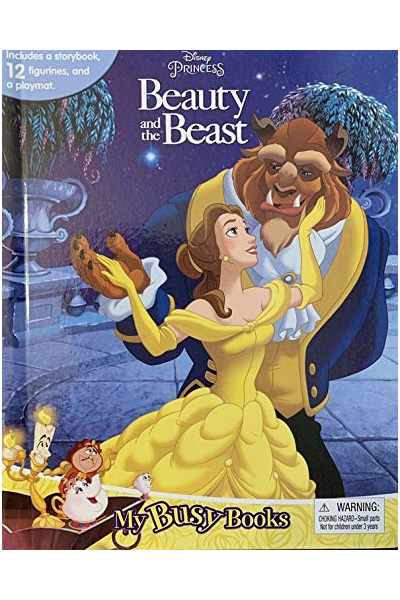 Disney Princess : Beauty and the Beast - My Busy Books