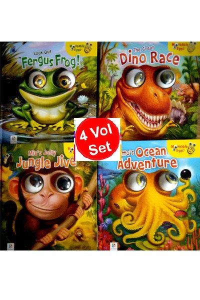 Moveable Eyes Board Book Series (4 Vol Set)