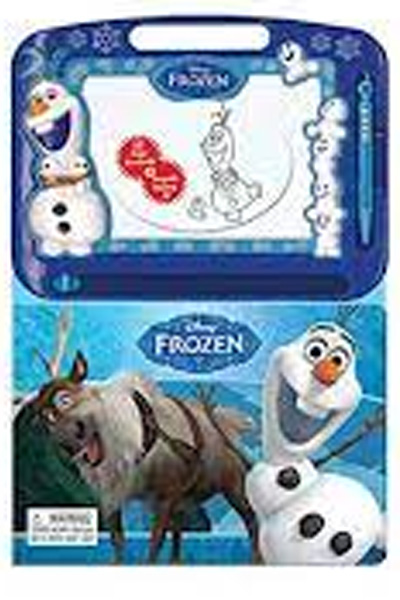 Disney Frozen (22 Page Storybook & Magnetic Drawing Kit)