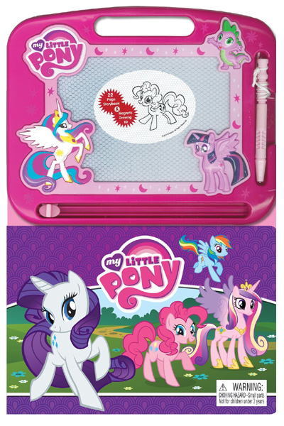 My Little Pony (22 Page Storybook & Magnetic Drawing Kit)