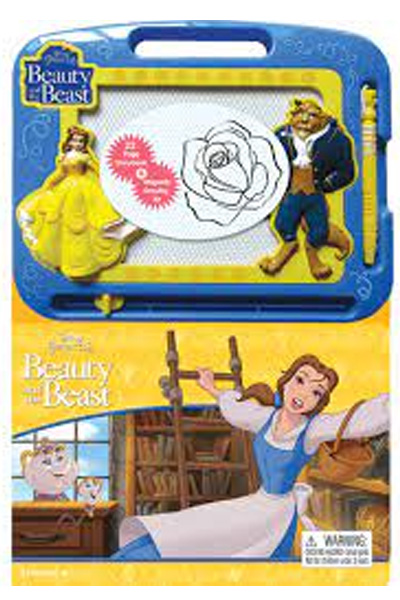 Disney Princess: Beauty and the Beast (22 Page Storybook & Magnetic Drawing Kit)