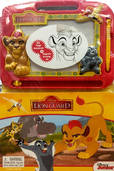 Disney: The Lion Guard (22 Page Storybook & Magnetic Drawing Kit)