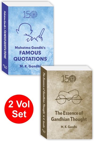 Gandhi Quotations Pack (2 vol set)