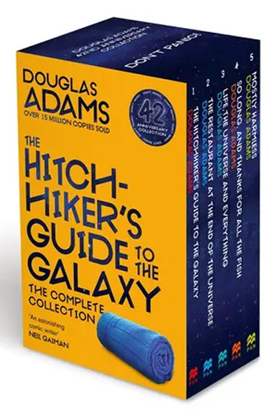 The Hitchhiker's Guide to The Galaxy : The Complete Collection (5 Vol Set)