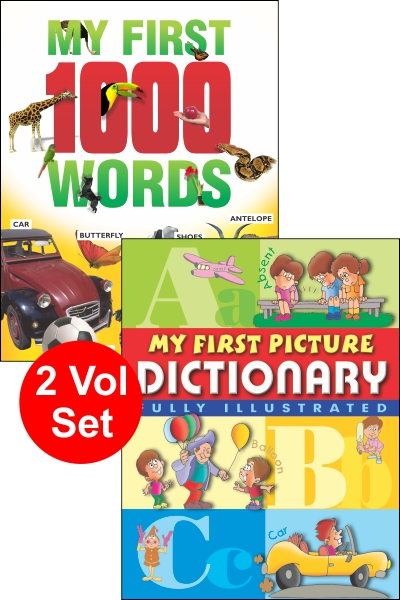 My First 1000 Words & My First Picture Dictionary (2 vol set)