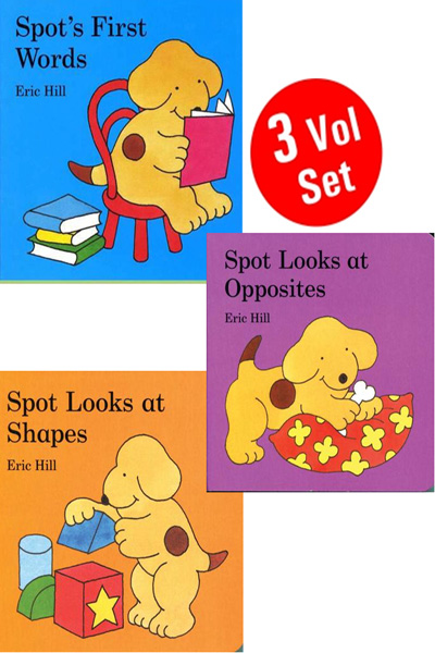 Eric Hill: Spot Looks At Series (3 vol set) (Board Books)