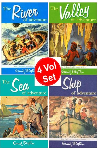 Enid Blyton Adventure Series 2 (4 vol set)