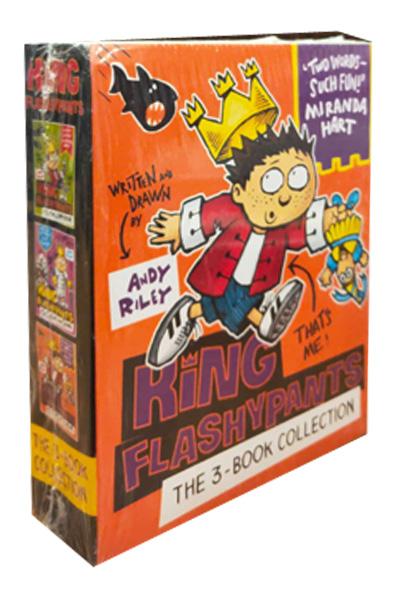King Flashypants Collection (3 vol set)