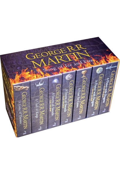 A Song of Ice and Fire: The Story Continues (7 volume set)