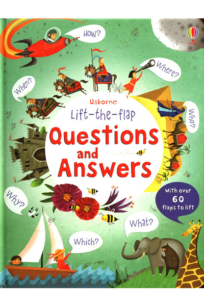Lift-the-flap : Questions and Answers - Board Book