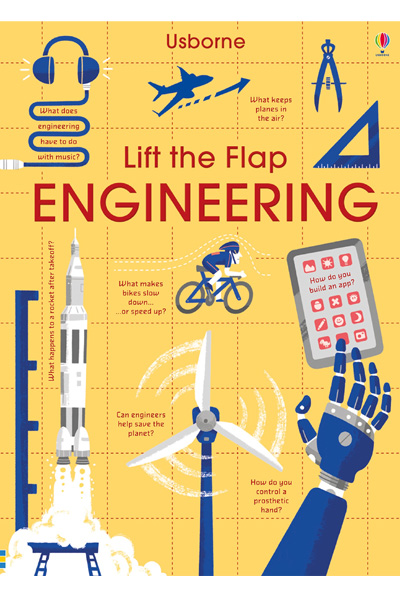 Lift the Flap Engineering - Board Book