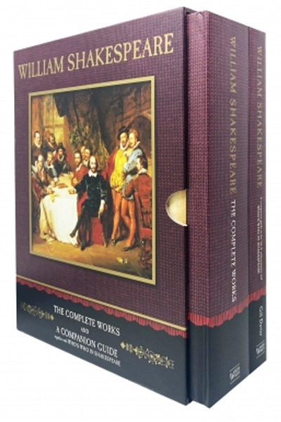 William Shakespeare: The Complete Works and A Companion Guide (2 vol set)