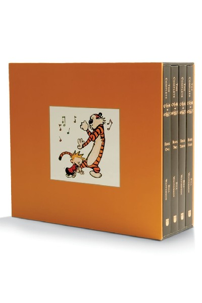 The Complete Calvin and Hobbes (4 Vol Set)