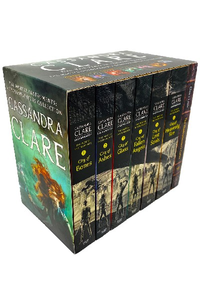 Cassandra Clare The Mortal Instruments: A Shadowhunters Collection (7 vol set)